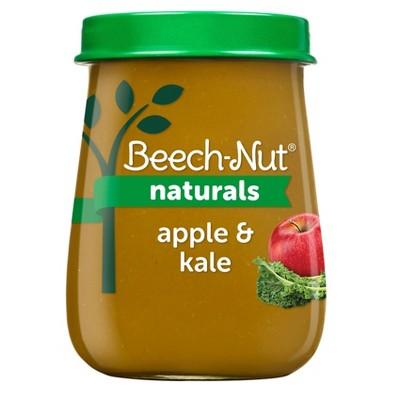 Beech-Nut Naturals Apple & Kale Baby Food Jar - 4oz
