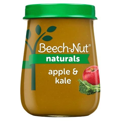 Beech-Nut Naturals Apple & Kale Baby Food Jar - 4oz - image 1 of 4