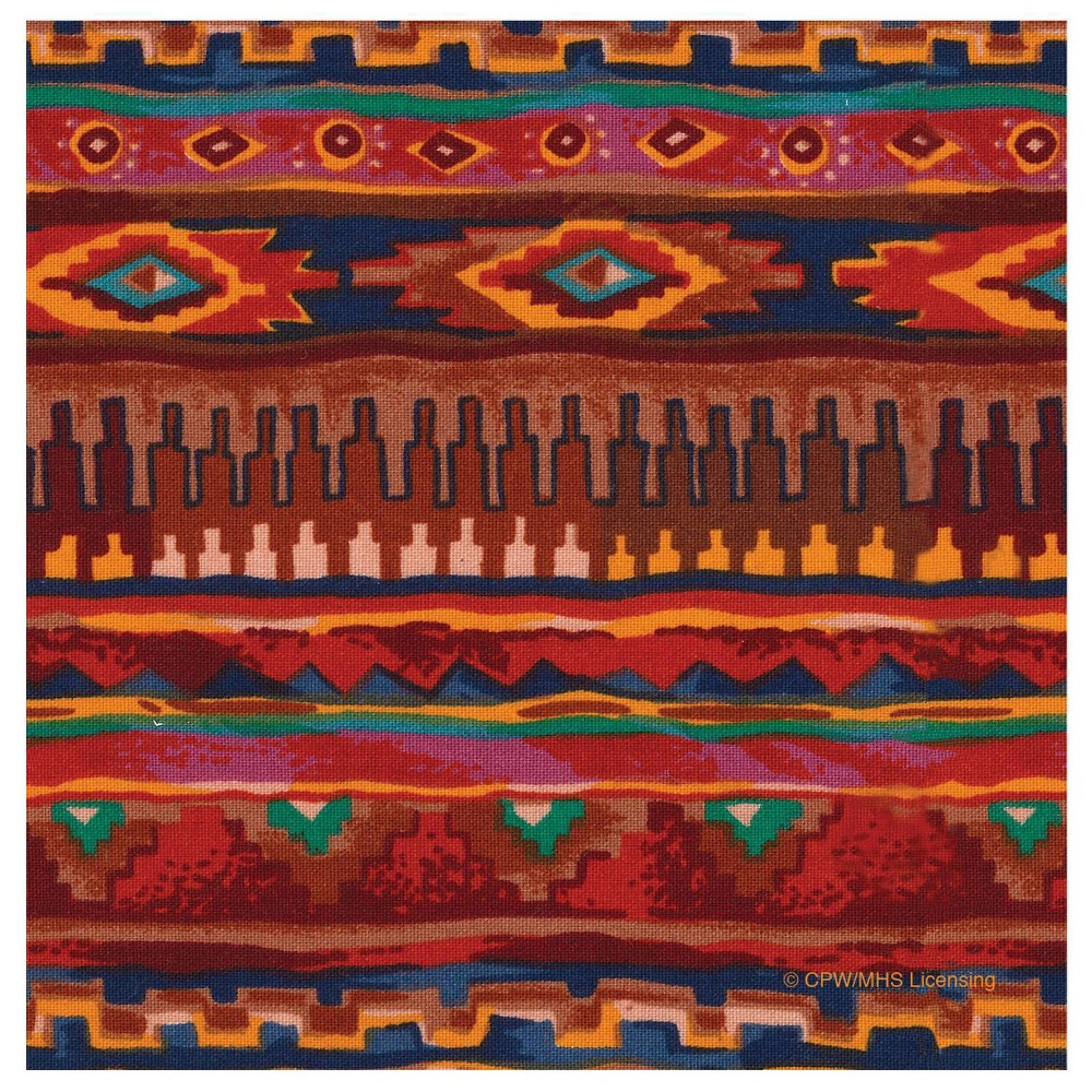 Image of 4pk Ceramic Southwest Blanket Print Coasters - Thirstystone