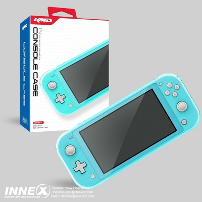 KMD Protective TPU Case Compatible with Nintendo Switch Lite, Clear