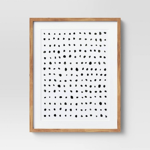 """24"""" x 30"""" Dots Framed Under Glass with Mat - Project 62™ - image 1 of 4"""
