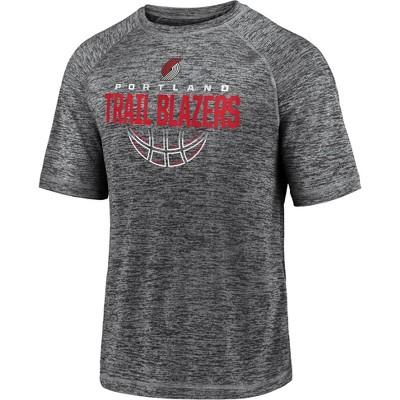 NBA Portland Trail Blazers Men's Synthetic Short Sleeve T-Shirt