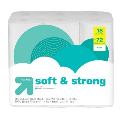 Soft & Strong Toilet Paper - up & up™