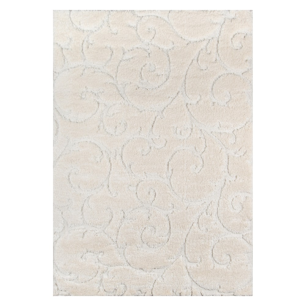 2'X3' Shapes Loomed Accent Rug Ivory - Momeni