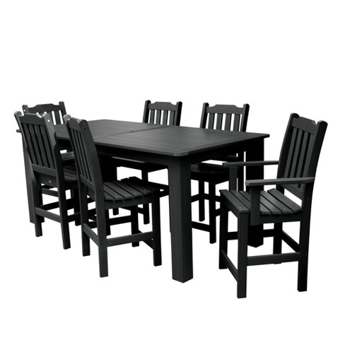 Lehigh 7pc Rectangular Counter Height Dining Set 84X42 - Highwood - image 1 of 6