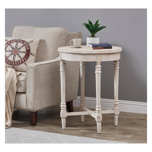 12fbe312df0e6 Christopher Knight Home Basque Accent Table White   Target