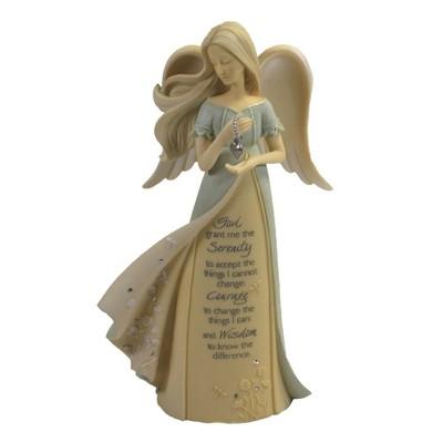 "Foundations 7.5"" Serenity Angel Courage Wisdom  -  Decorative Figurines"