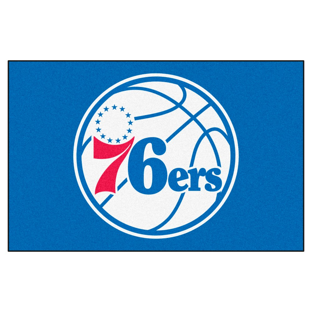 NBA Philadelphia 76ers Starter Rug 19