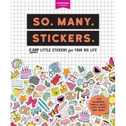So. Many. Stickers. - (Pipsticks+workman) (Paperback)