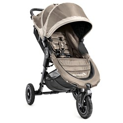 Baby Jogger City Mini GT Single Stroller - Sand/Stone