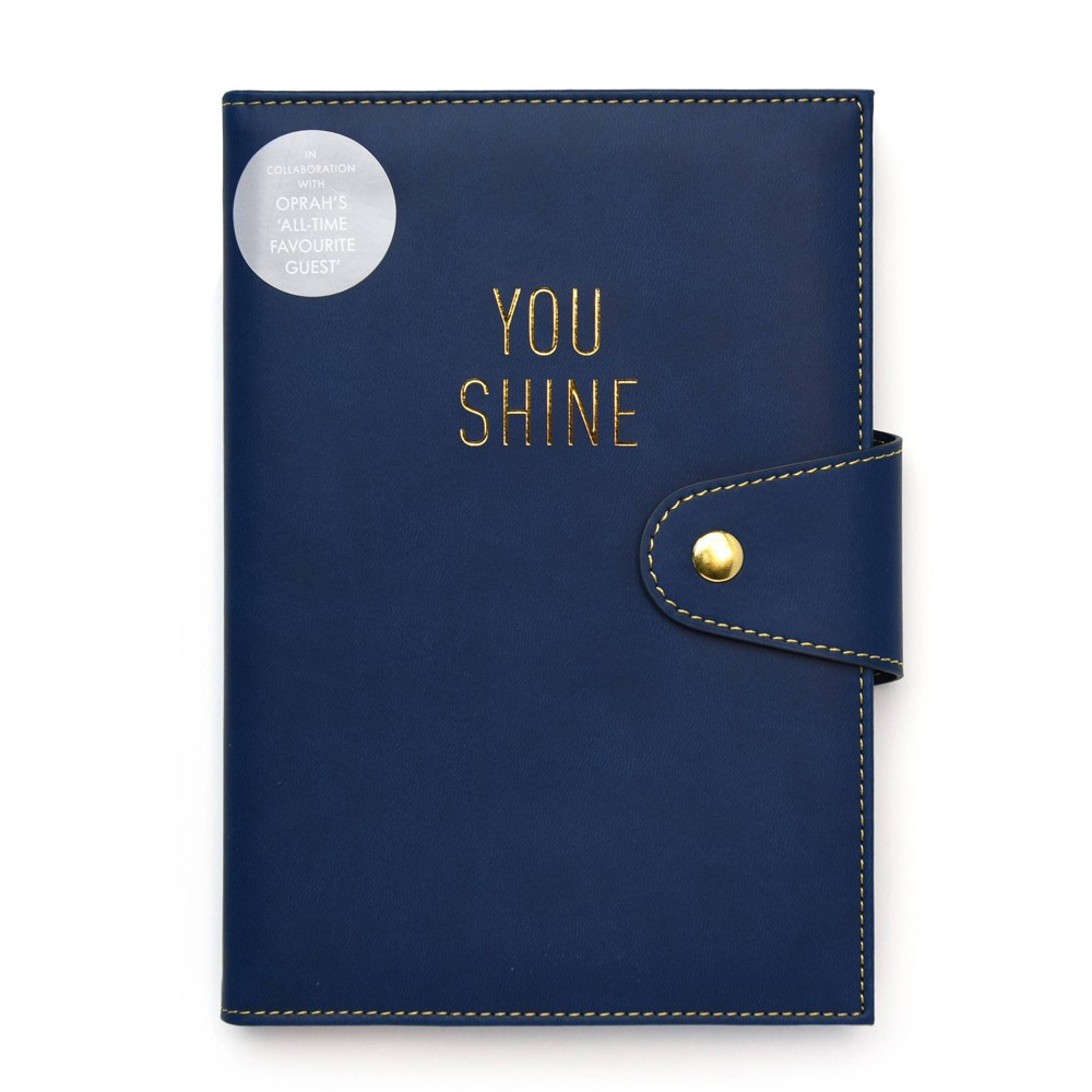 Image of Kikki.K Notebook Holder Navy/Yellow