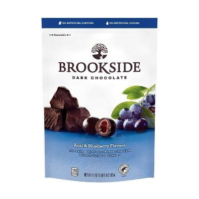 Brookside Acai & Blueberry Flavor Dark Chocolate Candies - 21oz