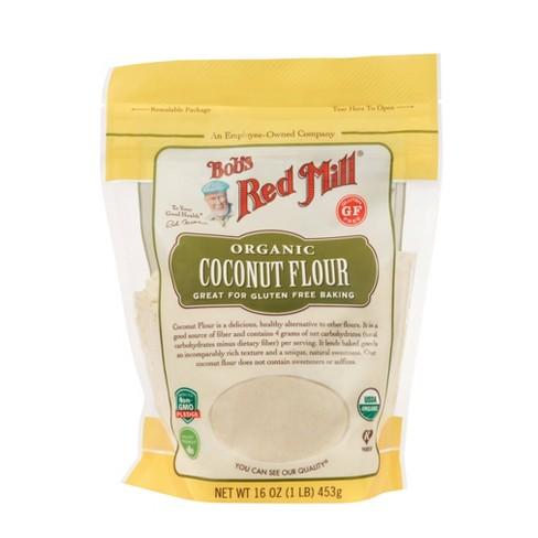 Bob's Red Mill Organic High Fiber Coconut Flour - 16oz - image 1 of 4