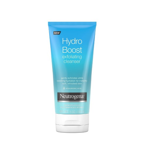 Neutrogena Hydro Boost Gentle Exfoliating Facial Cleanser - 5oz - image 1 of 4