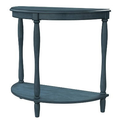 Ozelle Demi Round Side Table - HOMES: Inside + Out