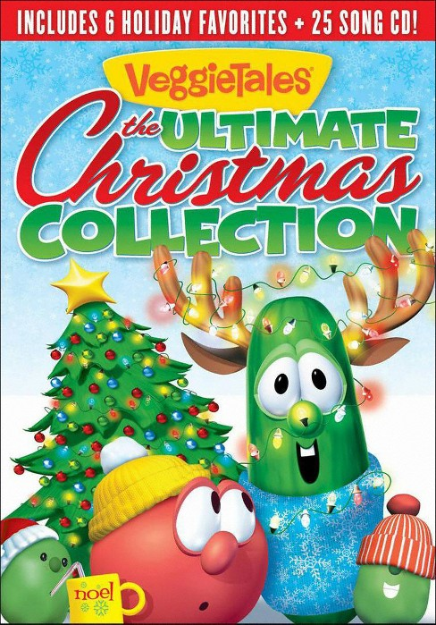 Veggie Tales: The Ultimate Christmas Collection (3 Discs) (2 DVDs/CD) (dvd_video) - image 1 of 1