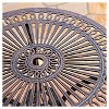 Cornwall 3pc Cast Aluminum Patio Bistro Set - Shiny Copper - Christopher Knight Home - image 3 of 4