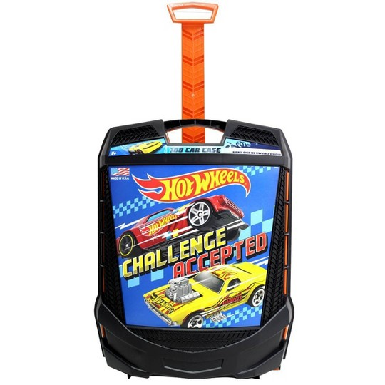 Hot Wheels 100 Car Case, Toy Vehicle Accessories image number null