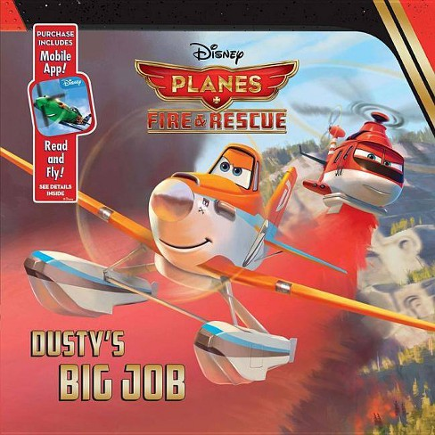 Planes: Fire & Rescue Dusty's Big Job (Board Book) by Disney Book Group - image 1 of 1