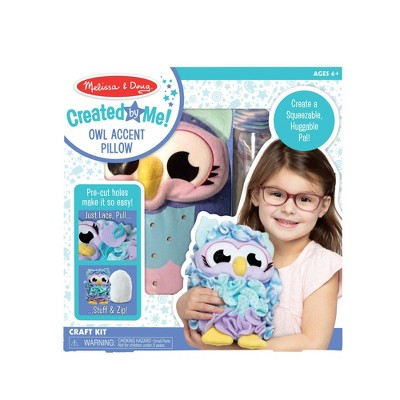 Melissa & Doug Created by Me Fluffy Owl Craft Kit
