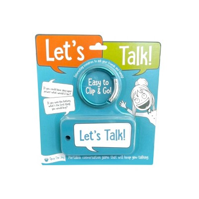 Open The Joy - Let's Talk Grab-n-Go Talking Points!