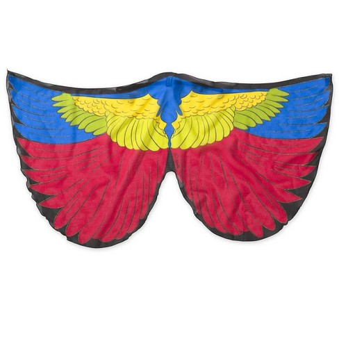 Fanciful Feathered Friend Bird Wings For Kids Dress Up Painted