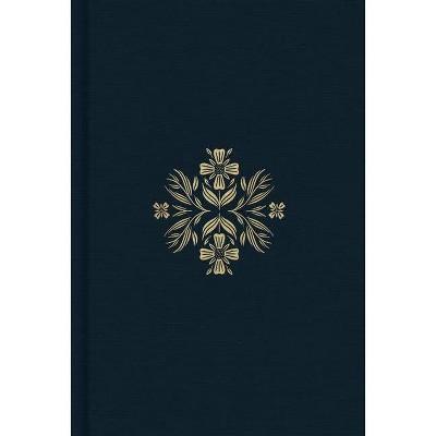 ESV Women's Study Bible (Cloth Over Board, Dark Teal) - (Hardcover)