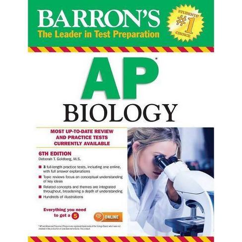 Barron's AP Biology - 6 Edition by  Deborah T Goldberg (Paperback) - image 1 of 1