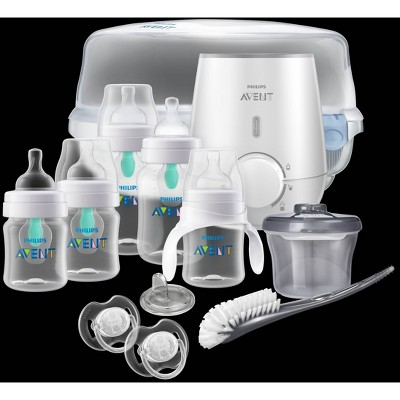 Philips Avent Anti-colic Bottle With AirFree vent Gift Set All In One
