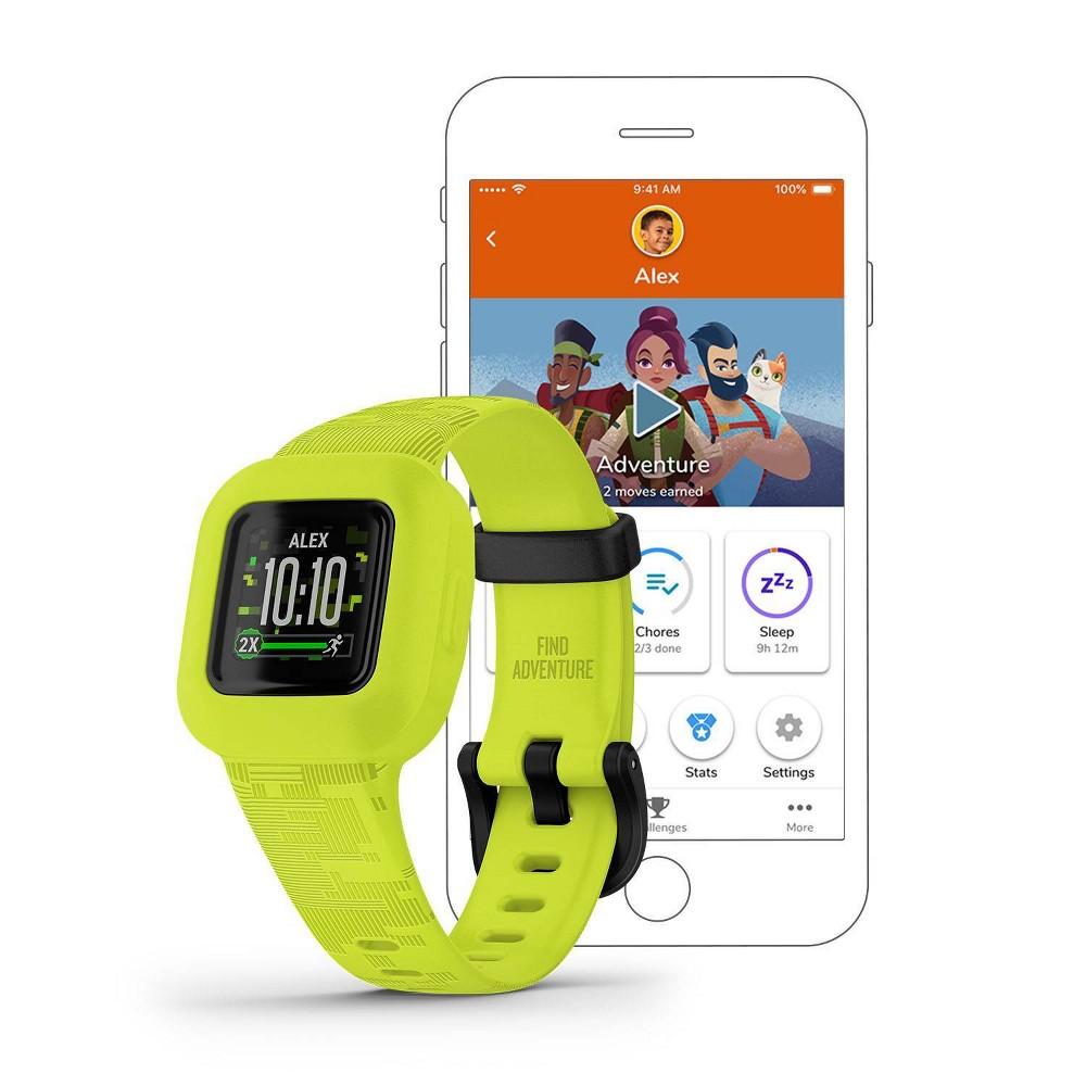 Garmin Vivofit Jr 3 Activity Tracker Camo Green