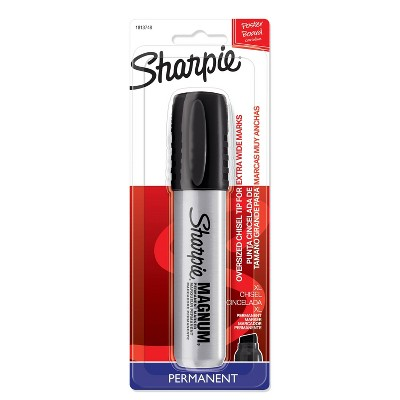 Permanent Marker Chisel Tip Black - Sharpie