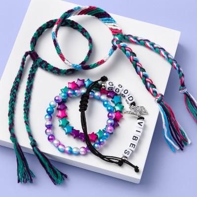 Girls' 5pk Braided Bracelet Set - More Than Magic™