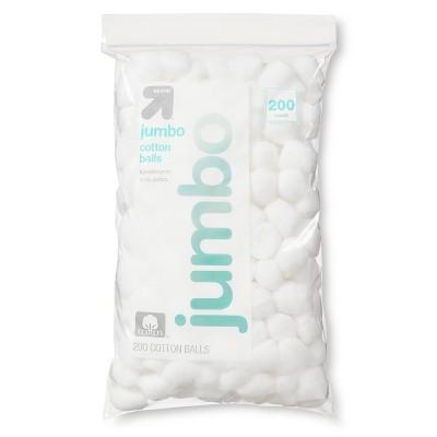 Jumbo Cotton Balls - 200ct - Up&Up™