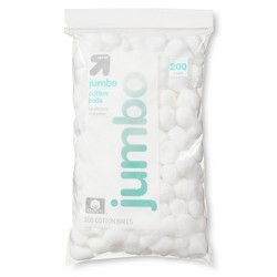 Jumbo Cotton Balls - 200ct - Up&Up™