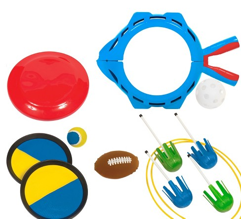 Eastpoint 5-in-1 Party Pack (Majik Catch, Majik Toss, Lawn Darts, Flying Disc, Splash Ball) - image 1 of 7