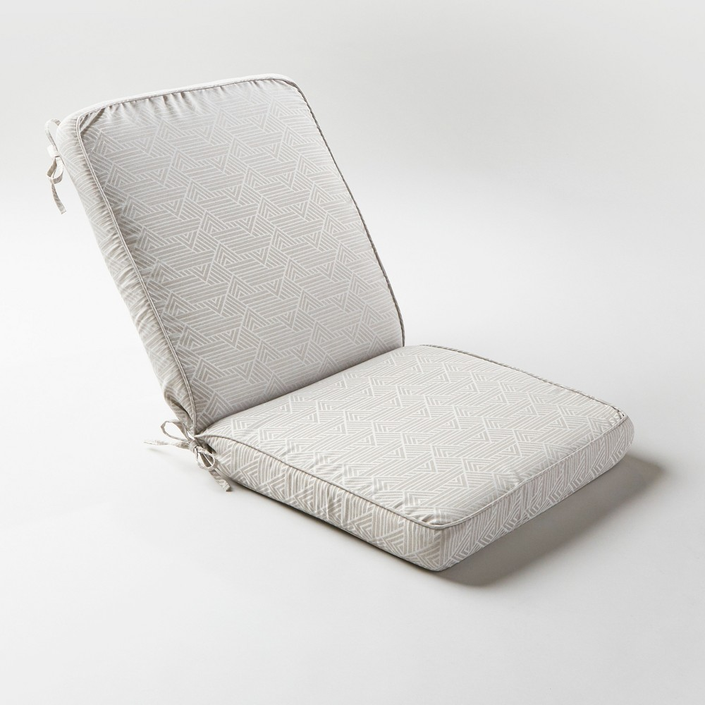 Range Pewter Outdoor Chair Cushion - Project 62