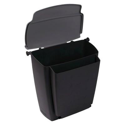 Rubbermaid Trash Bin Black Automotive Organizers