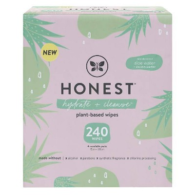 The Honest Company Hydrating Baby Wipes - 240ct