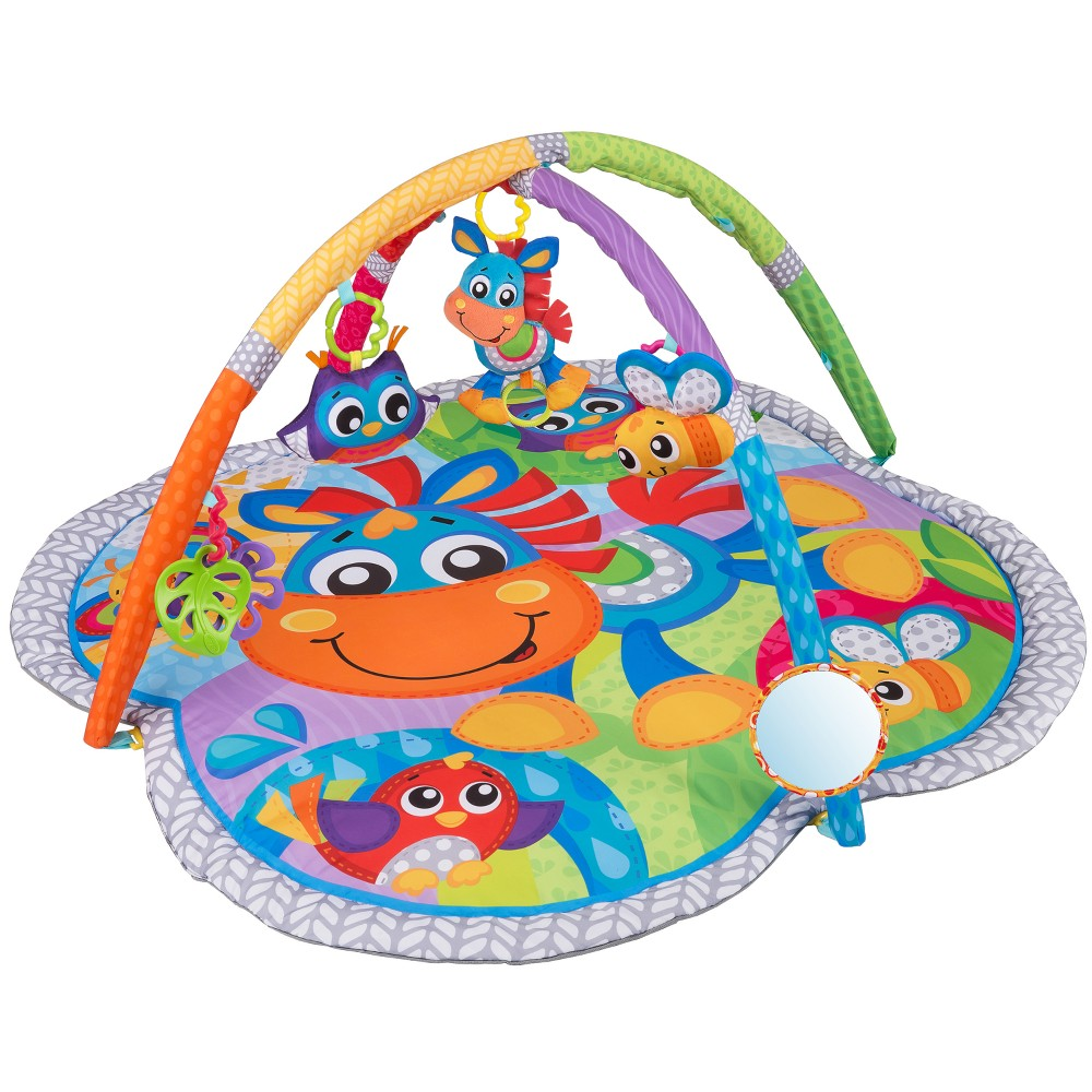 Image of Playgro Clip Clop Activity Gym with Music