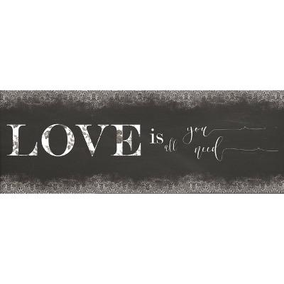 "55"" x 19"" Love Kitchen Runner Rug - J&V Textiles"