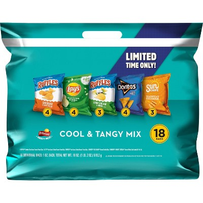 Frito Lay Variety Pack Cool and Tangy - 18oz/18ct