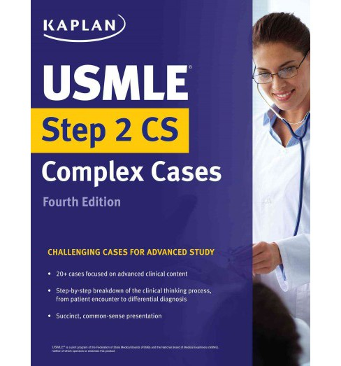 USMLE Step 2 Cs Complex Cases : Challenging Cases for Advanced Study (Paperback) - image 1 of 1