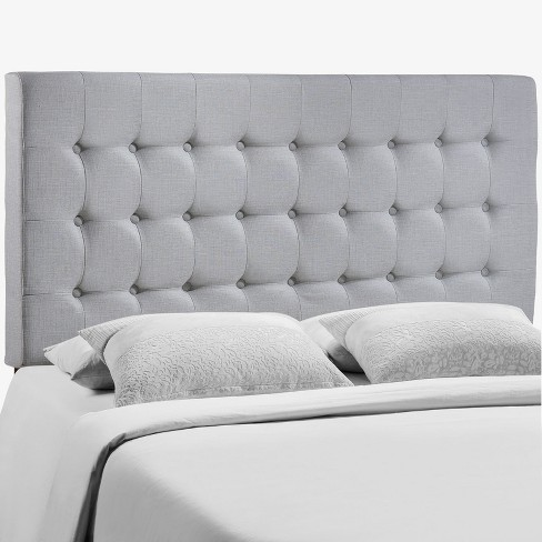 Tinble Queen Headboard Sky Gray - Modway - image 1 of 5