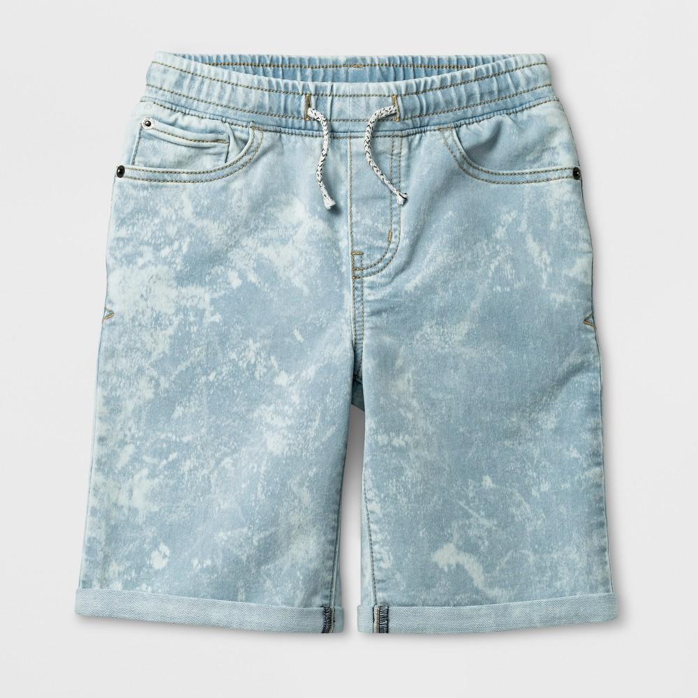 Boys' Jean Shorts - Cat & Jack Light Gray Xxl