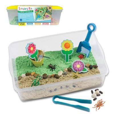 Garden Critters Sensory Bin - Creativity for Kids