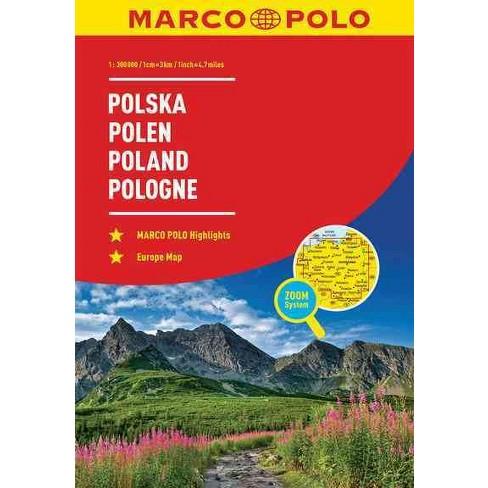 Marco Polo Road Atlas Poland Paperback Target