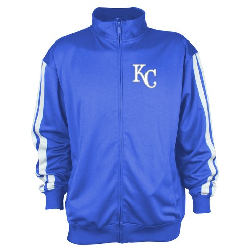 Kansas City Royals Men's Zip-Up Track Jacket - XXL - image 1 of 2