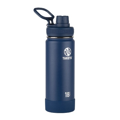 Takeya Actives 18oz Insulated Stainless Steel Water Bottle - Navy