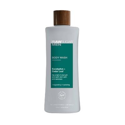 Raw Sugar Men's Body Wash Eucalyptus + Cedar Leaf - 25 fl oz