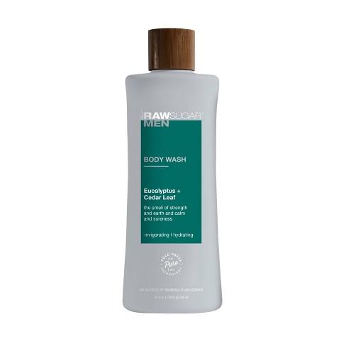Raw Sugar Men's Body Wash Eucalyptus + Cedar Leaf - 25 fl oz - image 1 of 3